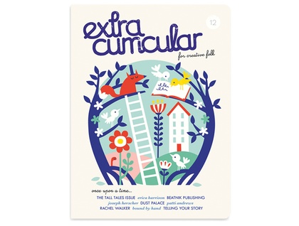 Extra Curricular magazine Issue 12 - PRE-ORDER (to be sent July 27th)