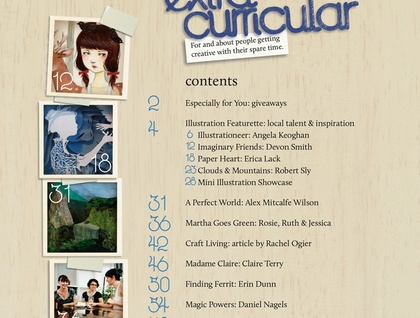 Extra Curricular Issue 2 - pre-order for April 1st