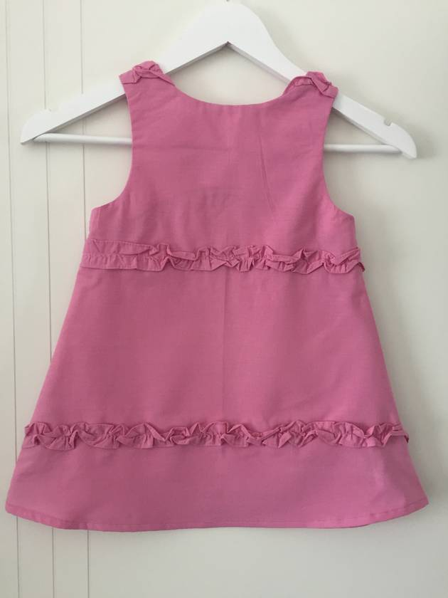 Pink Ruffle Dress Sz 4