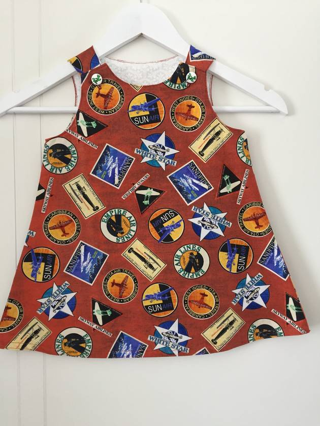 Aeroplane Dress Sz 2