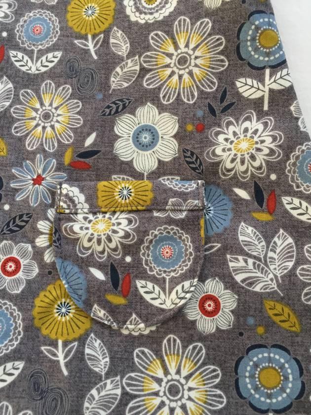 Handmade Flowers Pinafore Dress 6 mth