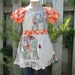 Size 3 Girl's Summer Peasant Top or Tunic  LAST ONE