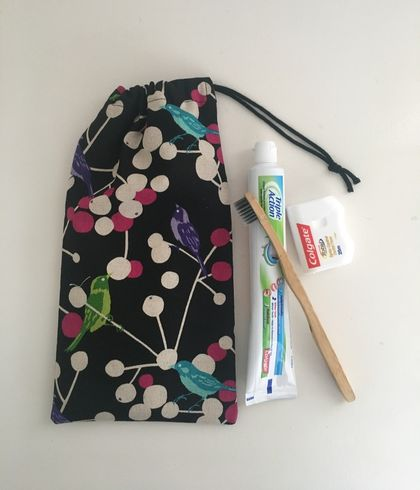 Toothbrush & toothpaste bag / hair brush bag / make up brush bag