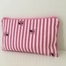 Cats & stripes medium size pencil case / make-up pouch / toiletry pouch / clutch