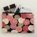 Japanese retro pattern medium size pencil case / make-up pouch / toiletry pouch / clutch