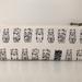 Japanese maneki-neko pencil case / glasses case