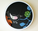 Wall clock #1 - designer fabric