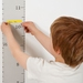 Restickable Wall Ruler Height Chart - Grey!