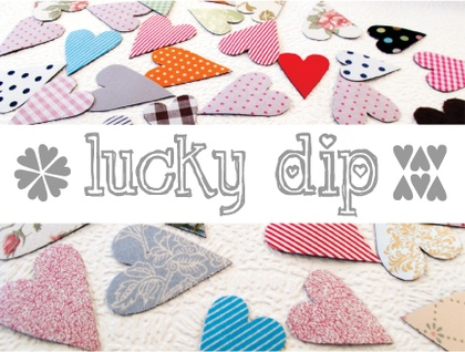Lucky dip magnets - mixture of 10 hearts!