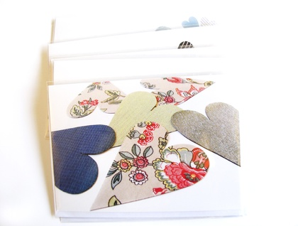 Fabric Love  - blank greeting card