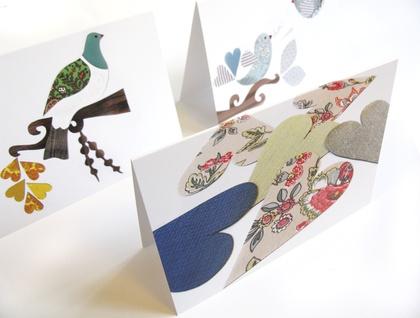 Fabric Love  - blank greeting card