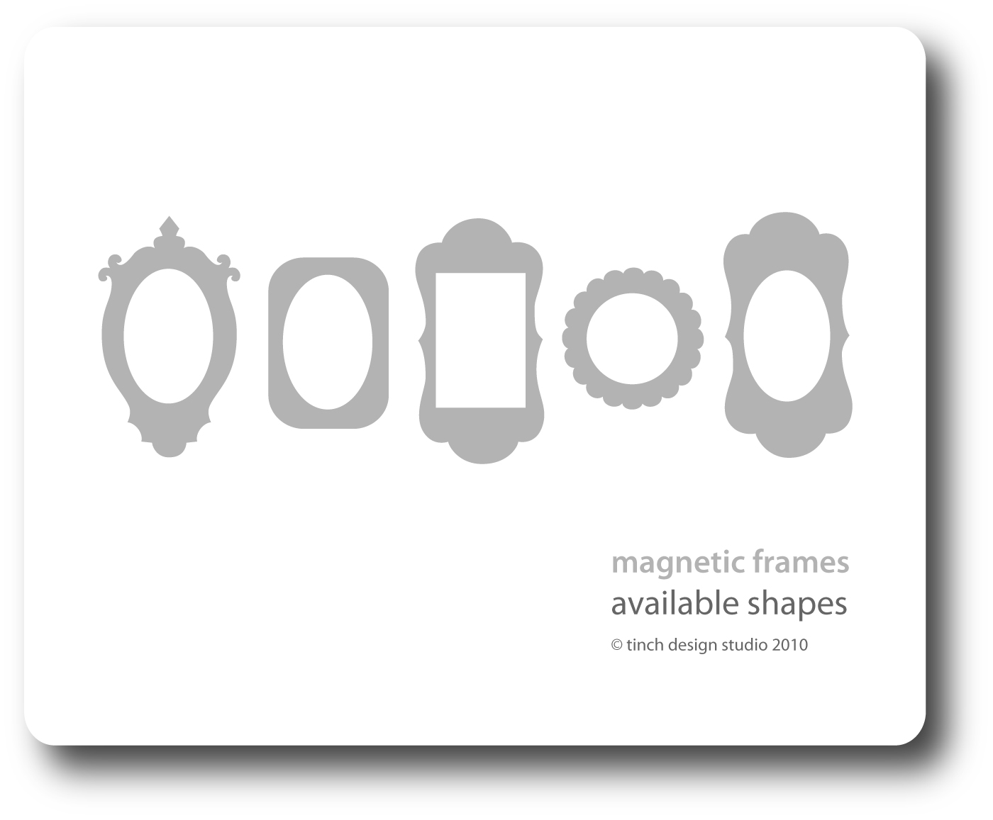 6x4 magnetic picture frame blackwhite spots felt 6x4 magnetic picture frame blackwhite spots jeuxipadfo Images
