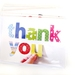 Thank you  - blank greeting card
