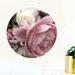 Pink Rose restickable wall dot 60cm