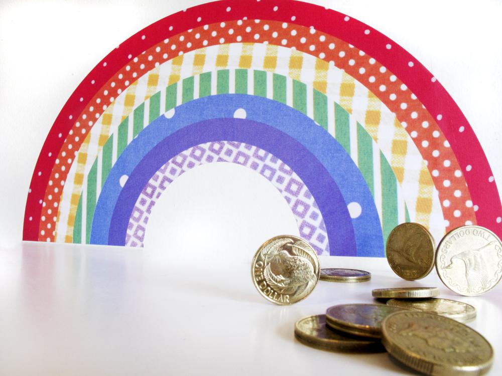 rainbow decal reuseable wall sticker felt rainbow fabric wall decal rainbow wall sticker