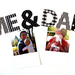 """""""Me & Dad"""" magnetic letters set for Fathers Day"""