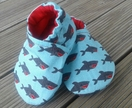 Cotton baby shoes -Sharks