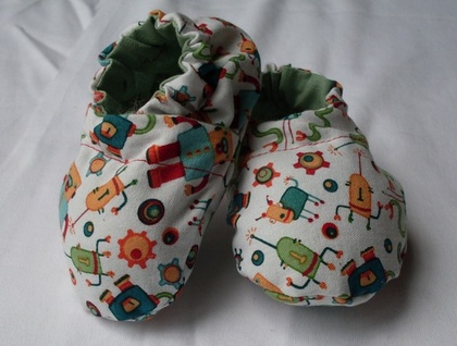 Robot baby shoes