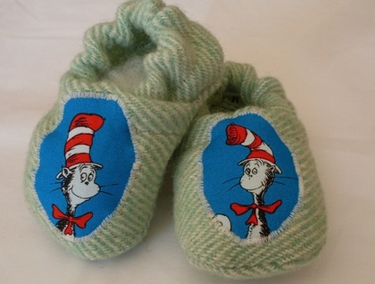 Cat in the Hat baby shoes