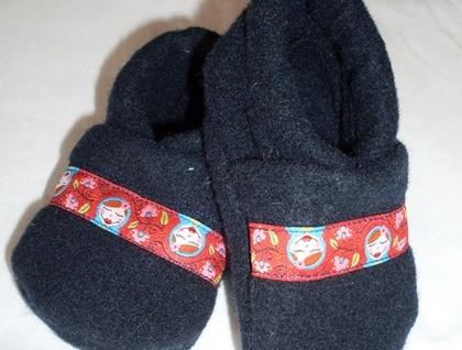 Matryoshka baby shoes