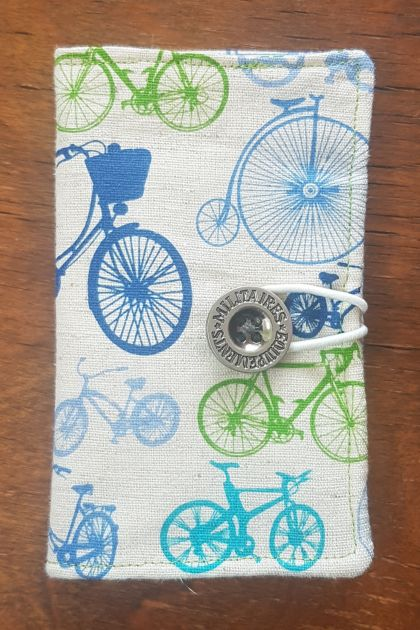 Bicycle themed card wallet