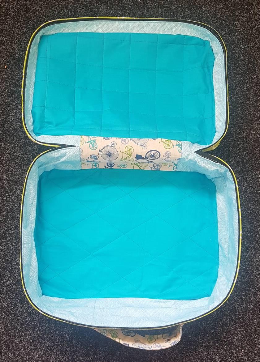 Handmade suitcase