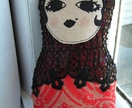 Fabric babushka doll (russian doll)