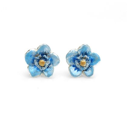 Forget Me Not Flower Studs