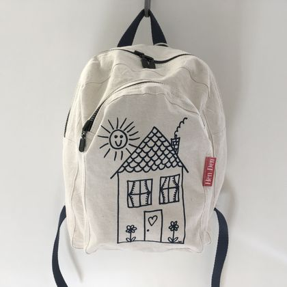Mini Screen Printed Backpack