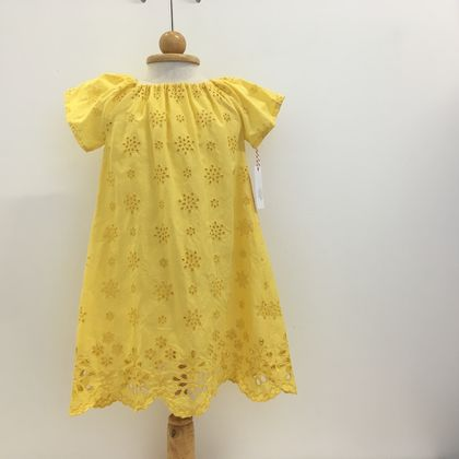 Broderie  Anglaise Girls Dress