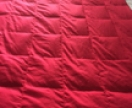 Red Sensory/ Weighted blanket SAMPLE ONLY, CUSTOM MADE. Available in various sizes and priced from $200 - $250