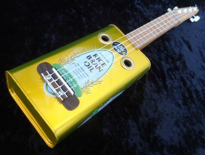 Cooking Oil Tin Ukulele