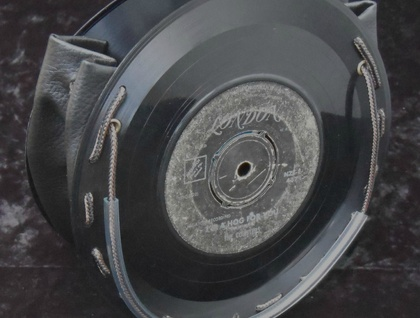 Recycled Vinyl Record Handbag
