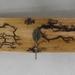 Arty Wall Mounted 3 Hook Coat Rack