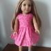 """18"""" Dolls Dress - Pretty Pink"""