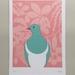Kereru Colour A4 Art Print