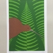 Kiwi Fern A4 Art Print