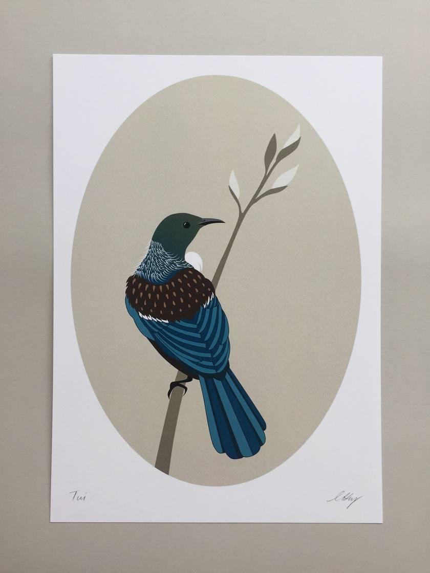 Tui Natural A4 Art Print