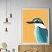 Kingfisher - Kotare A4 Fine Art Print