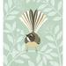 Fantail Eggshell A4 Fine Art Print