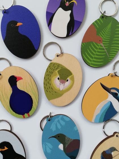Wooden Keytags