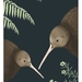 Kiwi pair A4 Fine Art Print