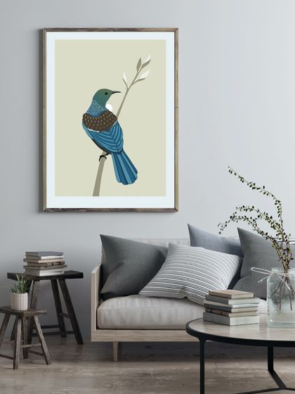 Tui Natural A4 Fine Art Print