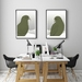 Curious Kea A4 Fine Art Print