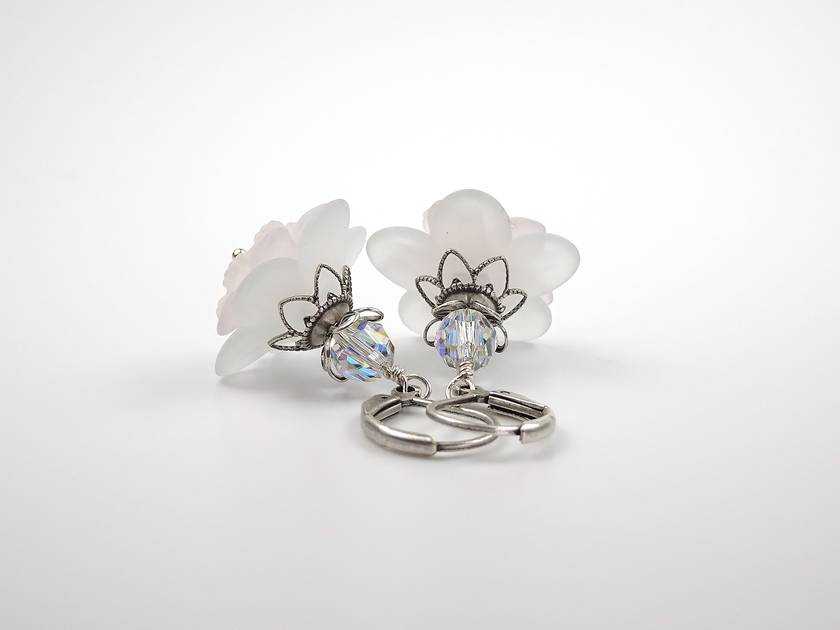 Baby Soft Lucite Earrings