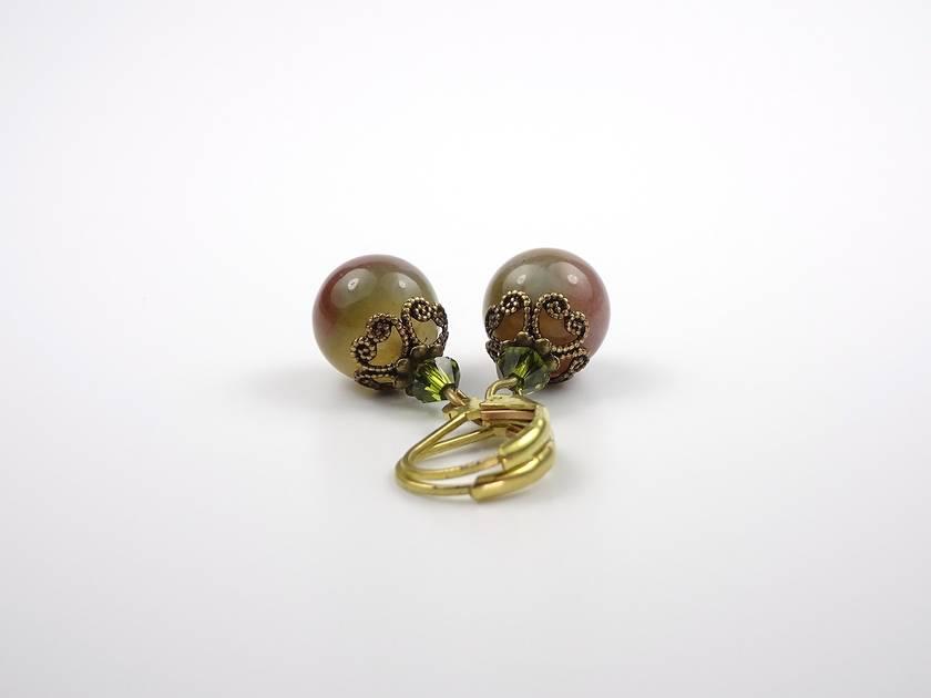 Modern Vintage Indian Age Earrings