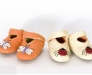 Gorgeous Wool-Felt Slippers for Children.