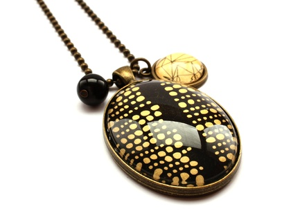 Gold Dotty Necklace