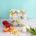 Reusable Oil Cloth Lunch Bag - Scandi Birds