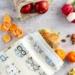 Reusable Oil Cloth Lunch Bag - Crazy Cats